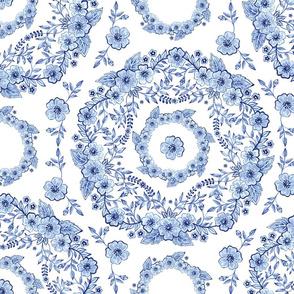 Blue Rhapsody on white