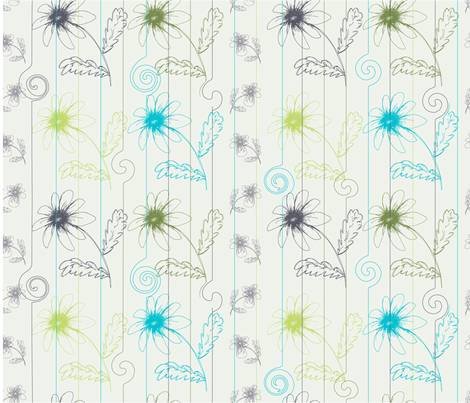 At the Zoo fabric by moxieart on Spoonflower - custom fabric