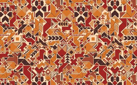 Autumn Foxes fabric by motyka on Spoonflower - custom fabric