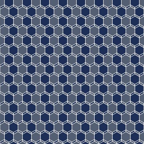 Blue Grey Geo fabric by lucy_myfunnybuddy on Spoonflower - custom fabric