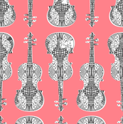 violin_print_gray_white_pink_bg
