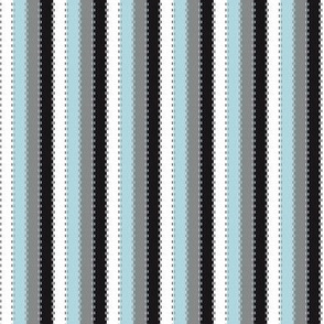Ballet Coordinate Stripes (Blue)