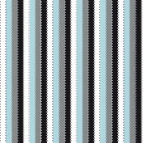 Ballet Coordinate Stripes (Blue)