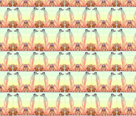 floraldog fabric by heavenly_lotus on Spoonflower - custom fabric