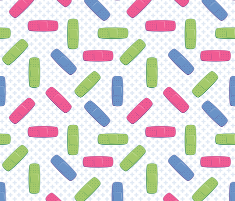Bandages  Synergy0011 fabric by petitspixels on Spoonflower - custom fabric