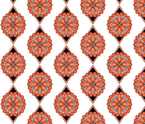 Orange-Pearl fabric by michelle_zollinger_tams on Spoonflower - custom fabric