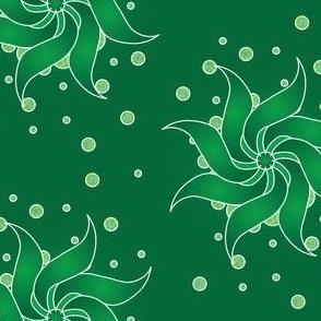 Emerald-Pinwheel