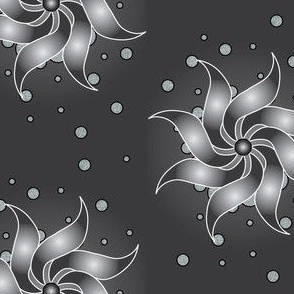 Silver-Pinwheel
