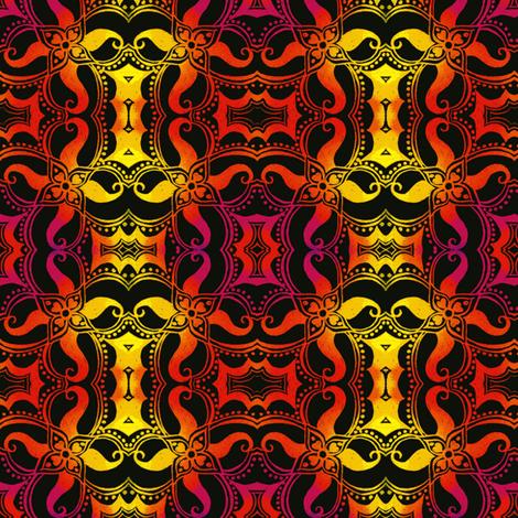 Mandala Squared fabric by joonmoon on Spoonflower - custom fabric