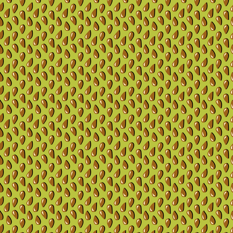 Apple seeds fabric by petitspixels on Spoonflower - custom fabric