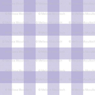 Gingham Check Purple