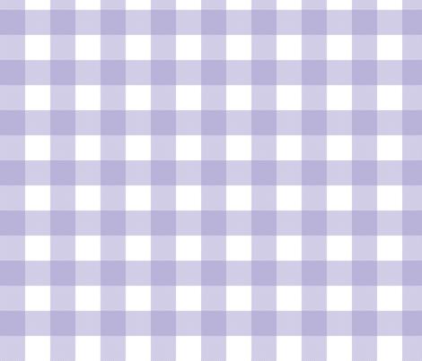 Gingham Check Purple fabric by minimiel on Spoonflower - custom fabric