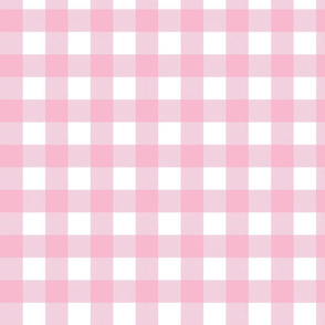Gingham Check Pink