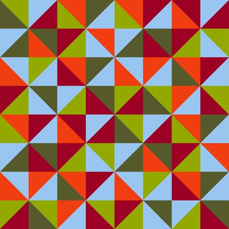 autumn leaves quilt fabric by weavingmajor on Spoonflower - custom fabric