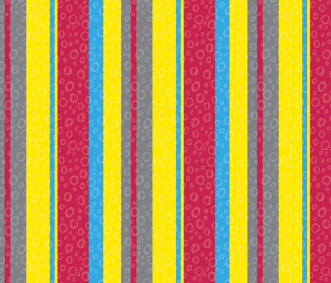 Jungle Stripes - Primary Colors fabric by emily_caraballo on Spoonflower - custom fabric