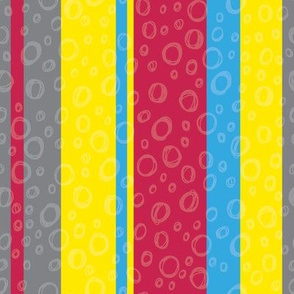 Jungle Stripes - Primary Colors