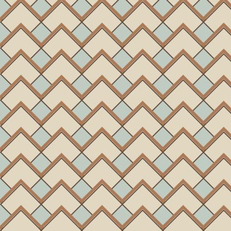 Diamond Latte fabric by deejuntax on Spoonflower - custom fabric