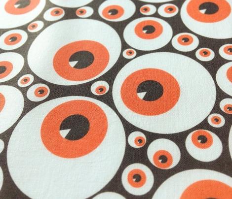 Eyeballs orange