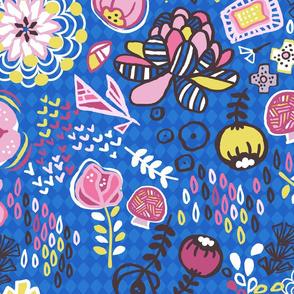 miriam-bos-copyright-bloemen-doodle-blauw