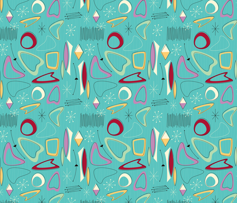 Atomicoma fabric by bobbifox on Spoonflower - custom fabric