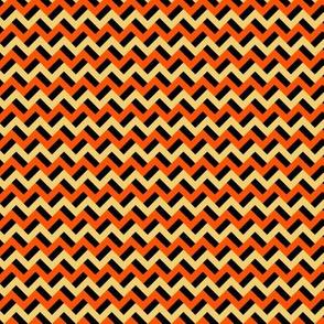 Pumpkin-esque zigzags