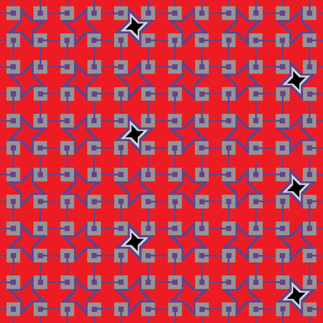 Red Carpet Walk  fabric by cinthr on Spoonflower - custom fabric
