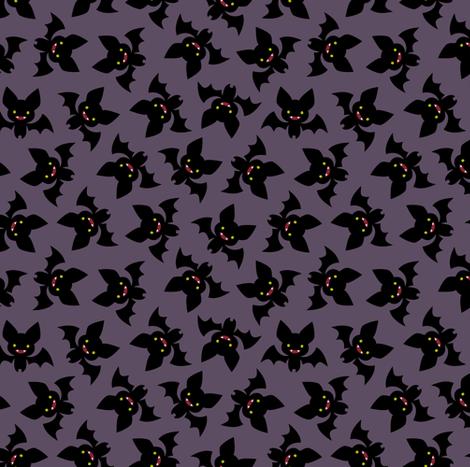 Vampire Bats fabric by petitspixels on Spoonflower - custom fabric