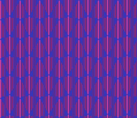 Berry Chevron Pinstripe fabric by gingezel on Spoonflower - custom fabric