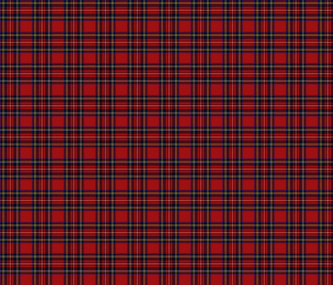 Royal Stewart Tartan fabric by lilyoake on Spoonflower - custom fabric