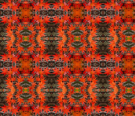 Red Maple 0047 fabric by falcon11 on Spoonflower - custom fabric