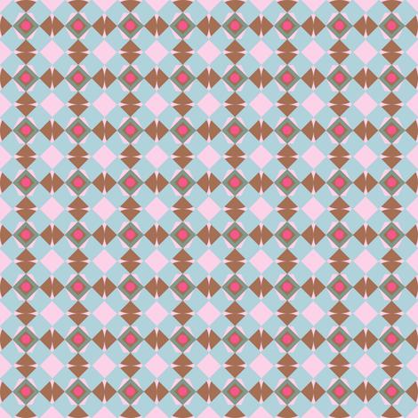 blue_argyll fabric by weejock on Spoonflower - custom fabric