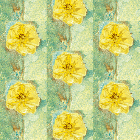 Ranunculus Watercolor fabric by larkspur_hill on Spoonflower - custom fabric