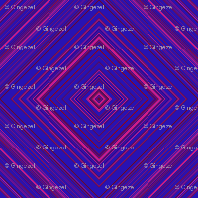 Berry Diamond Geometric © Gingezel™
