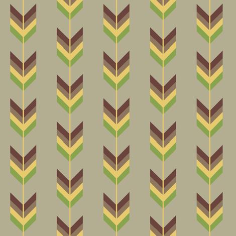 Arrow-ed fabric by dalstonite on Spoonflower - custom fabric