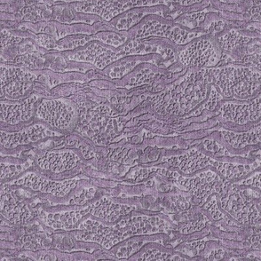 encrusted misty purple
