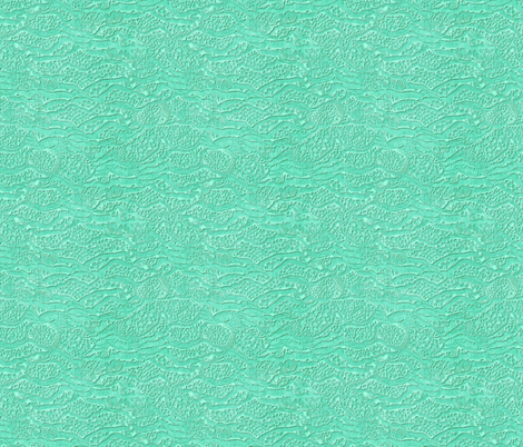 encrusted seafoam fabric by glimmericks on Spoonflower - custom fabric