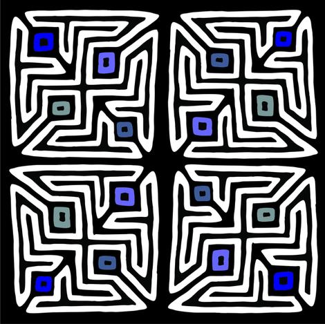 mola_1 fabric by pauroyjj on Spoonflower - custom fabric