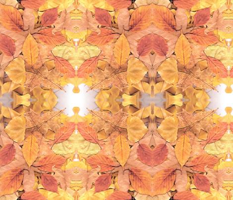 Fallen Leaves fabric by vasonaarts on Spoonflower - custom fabric