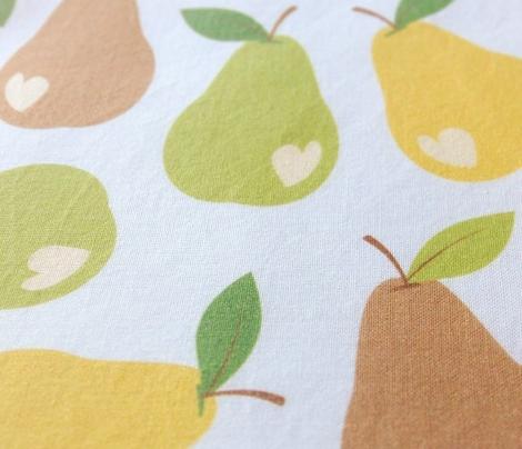 Ditsy bitten pears