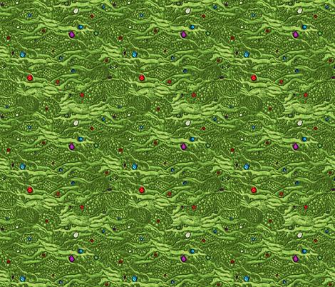 encrusted dragon skin w gems fabric by glimmericks on Spoonflower - custom fabric