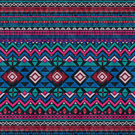 Aztec Forever fabric by demigoutte on Spoonflower - custom fabric