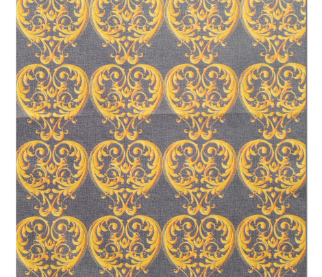 Opera Damask Yellow