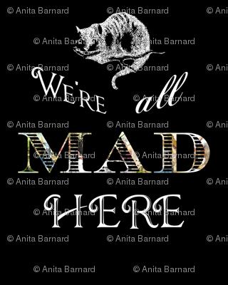 Alice in Wonderland Mad Cheshire Cat