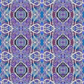 Mi'Lady's Lavender Paisley