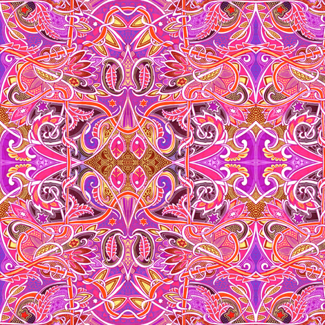 All Mimsy Were Ye Borogroves fabric by edsel2084 on Spoonflower - custom fabric