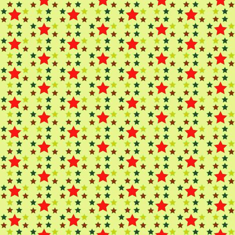 Autumn_Stars fabric by megan_mciver on Spoonflower - custom fabric