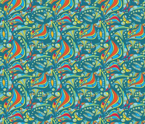 Creating the world fabric by ksanask on Spoonflower - custom fabric