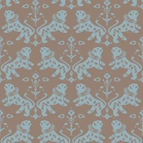 Tyrell, Green Garden Pattern