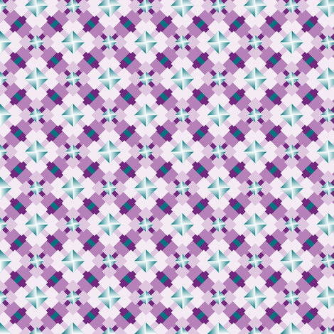 Trendy Tetragons fabric by jjtrends on Spoonflower - custom fabric