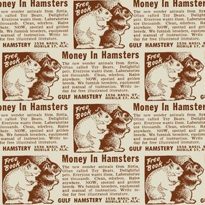 Make Money Breeding Hamsters advertisment 1952